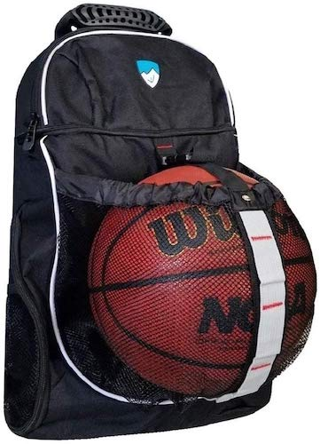4. Hard Work Sports Basketball Backpack with Ball Compartment