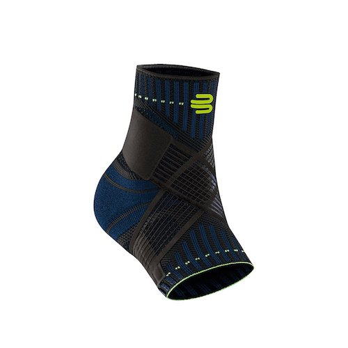 10. Bauerfeind Sports Ankle Support - Breathable Compression - Figure 8 Taping Strap - Air Knit Fabric Breathability