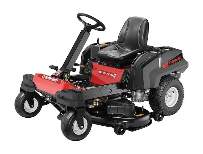 6. Troy-Bilt 25HP 725cc Twin Cylinder Transmission 54-inch Pivot Zero Turn Mower