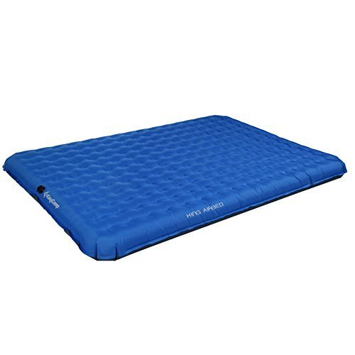 7. KingCamp Camping Sleeping Air Mat -2 Person Inflatable Double PVC Free Air Bed, Suitable for Traveling Hiking Outdoor Activities