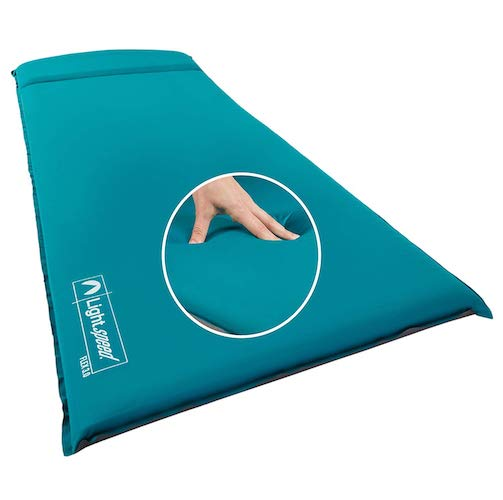10.Lightspeed Outdoors XL Super Plush FlexForm Premium Self-Inflating Sleep and Camp Pad