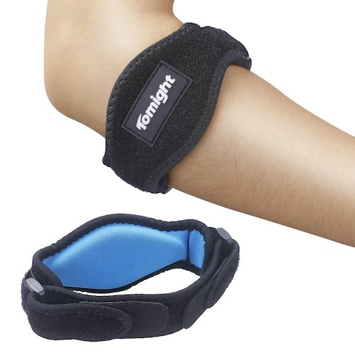 1. Tomight [2 Pack] Elbow Brace, Tennis Elbow Brace with Compression Pad for Both Men and Women