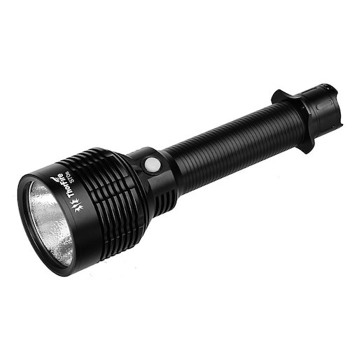 2. Thorfire Powerful Flashlight, 3960 Lumens XHP70 Led Tactical Searchlight Long Throw Waterproof Floodlight