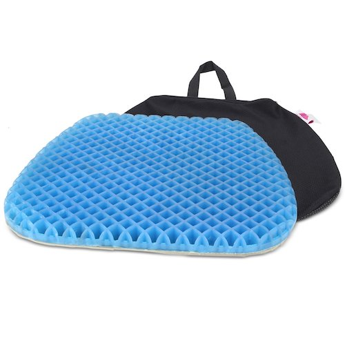 3. FOMI Premium All Gel Orthopedic Seat Cushion Pad for Car, Office Chair, Wheelchair, or Home