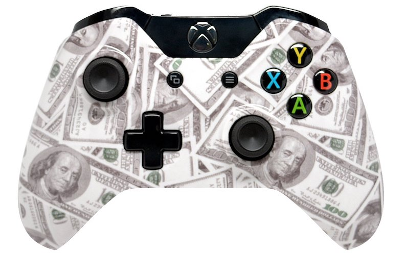 6.Xbox One Rapid Fire Custom Modded Controller 40 Mods for All Major Shooter Games (3.5 mm jack)
