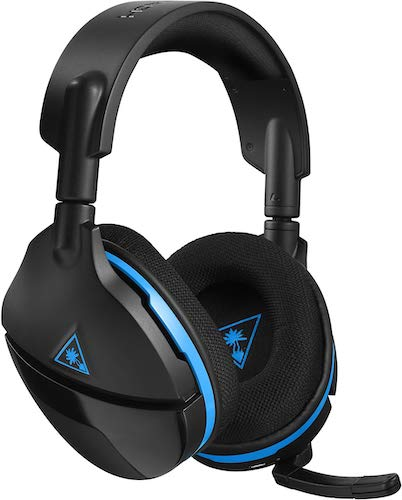 4.Turtle Beach Stealth 600 Wireless Surround Sound Gaming Headset for PlayStation 4 Pro and PlayStation 4