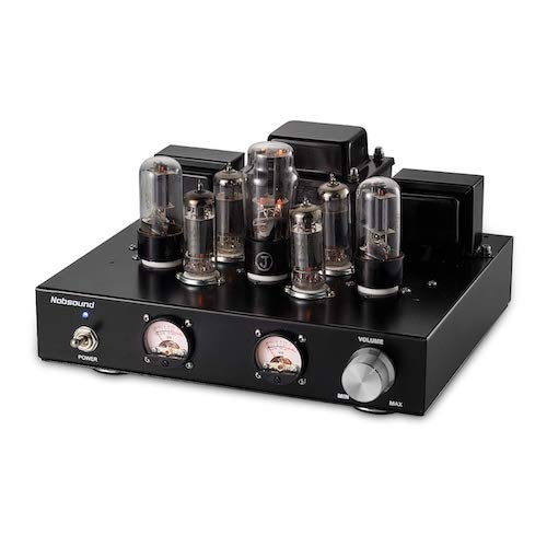 10. Nobsound 6P1 6.8W 2 Vacuum Tube Power Amplifier; Stereo Class A Single-Ended Audio Amp Handcrafted (without Headphone Amp Function)