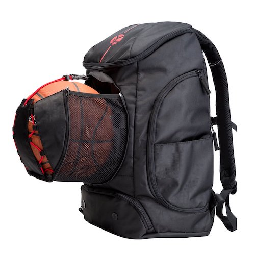 6. Kuangmi Basketball Backpack Ball Pocket All Sports Gym Travel Bag for Basketball,Soccer,Volleyball,Football,Rugby