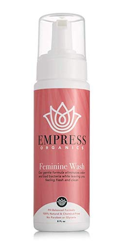 8. Empress Organics Feminine Wash (8 oz)