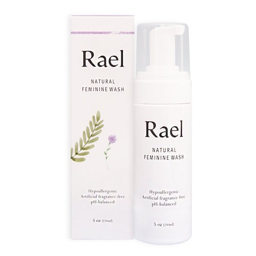 1. Rael Natural Feminine Cleansing Wash - For Sensitive Skin - Light and Fresh Scent (150 ml (5 oz.)