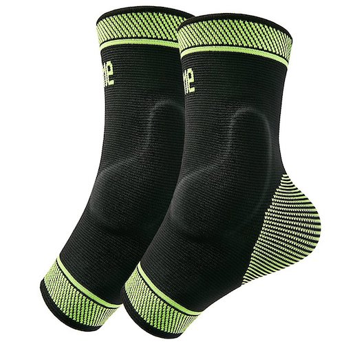 3.Protle Foot Socks Ankle Brace Compression Support Sleeve with Silicone Gel