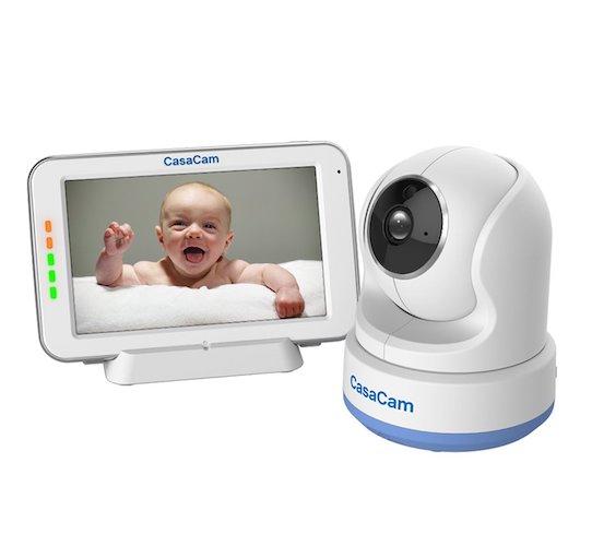 4.CasaCam BM200 Video Baby Monitor with 5
