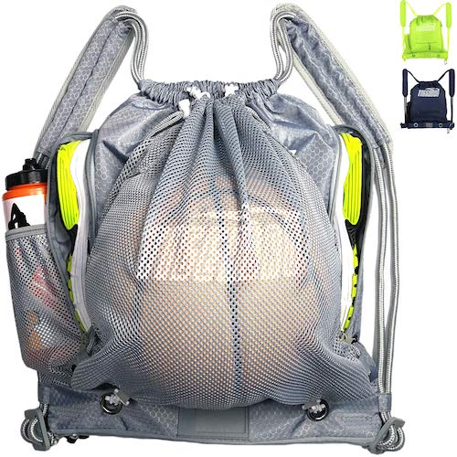 7. Tigerbro Soccer Backpack for Youth Kids Girls Boys Women Men Sports Bag for Basketball Football