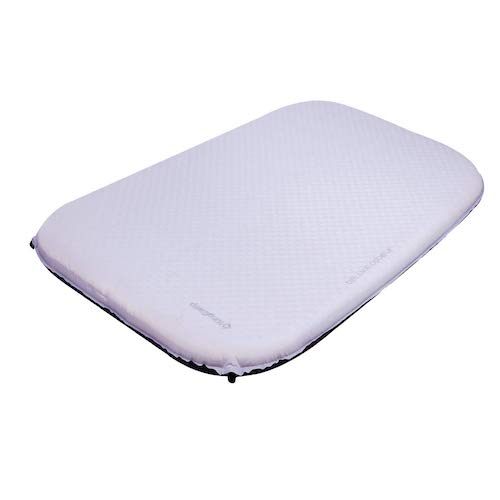 1.KingCamp Camping Double/Single Sleeping Pad Foam Mat Mattress - Self Inflating Thick Pad Suitable for Traveling Hiking Family Camping Outdoor Activities