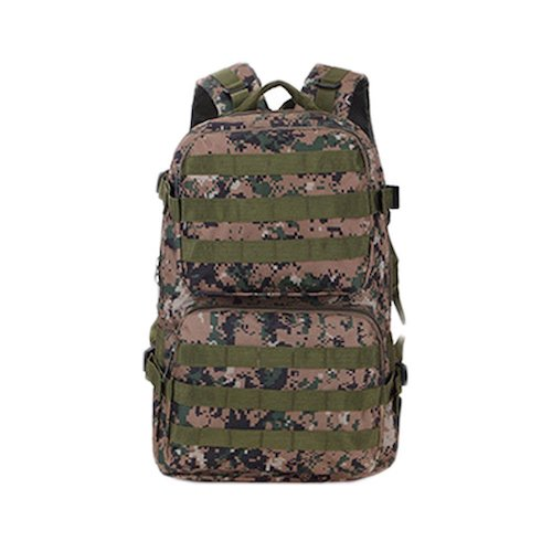 10. Military Tactical Backpack, Waterproof Assault Pack Expandable Backpack For Traveling Camping Hunting Outdoors School Sports Survival