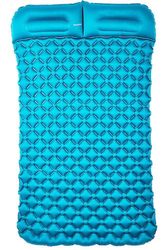 9. Sinoartizan Lightweight Camping Sleeping pad mat, Portable Camp Sleep mat Tent pad Camping air Mattress