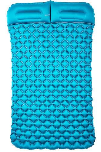 9.Sinoartizan Lightweight Camping Sleeping pad mat, Portable Camp Sleep mat Tent pad Camping air Mattress