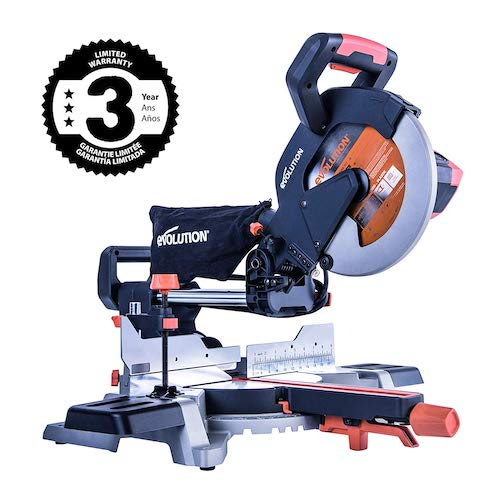 3. Evolution Power Tools R255SMS 10