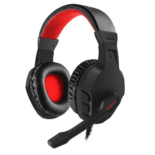 3.NUBWO U3 3.5mm Gaming Headset Over Ear Flexible Microphone Volume Control with Mic