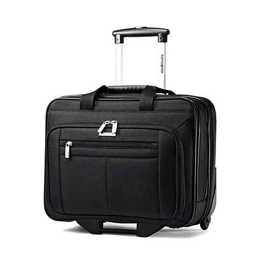 8. Samsonite 15.6-Inch Classic Business Wheeled Business Case (43876-1041)