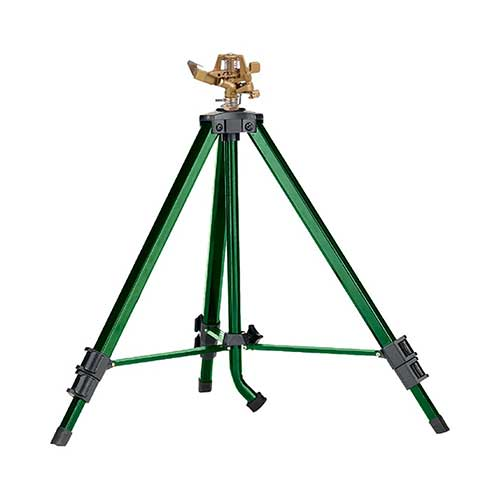 4. Orbit 56667N Zinc Impact Sprinkler on Tripod Base