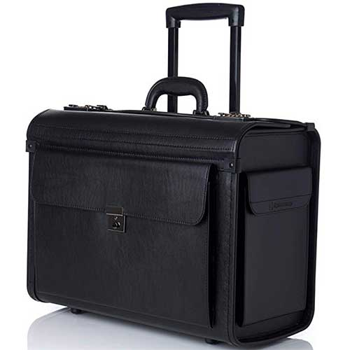 Top 10 Best Rolling Briefcases in 2019 Reviews