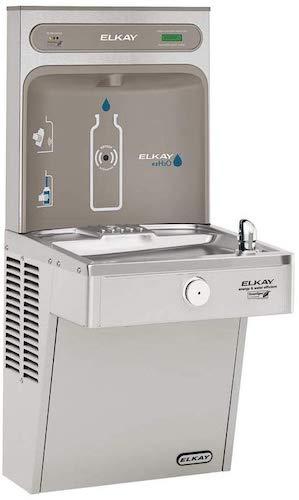 6. Elkay LVRCGRN8WSK EZH2O Bottle Filling Station and Single High Efficiency Vandal Resistant Cooler