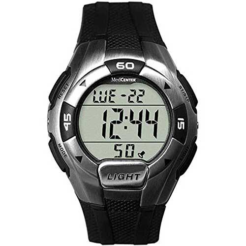 9. Medcenter 46466 Sports Watch Alarm Reminder Large Lcd Display