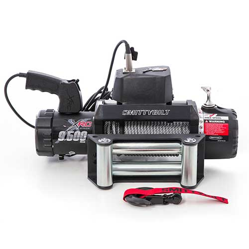1. Smittybilt 97495 XRC Winch - 9500 lb. Load Capacity