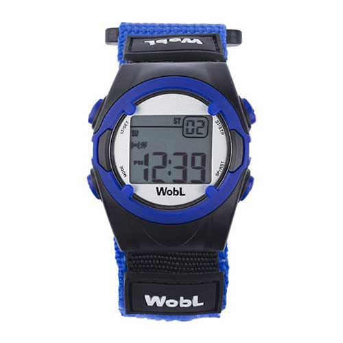 7. WobL - Blue 8 Alarm Vibrating Reminder Watch, Kids Watch, ADHD, Potty Reminder