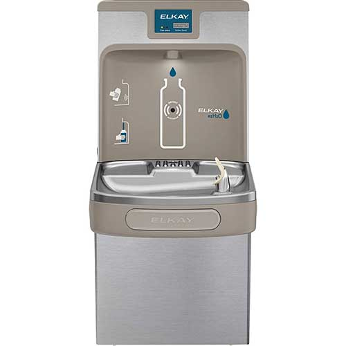1. Elkay LZS8WSSP Enhanced EZH2O Bottle Filling Station & Single ADA Cooler