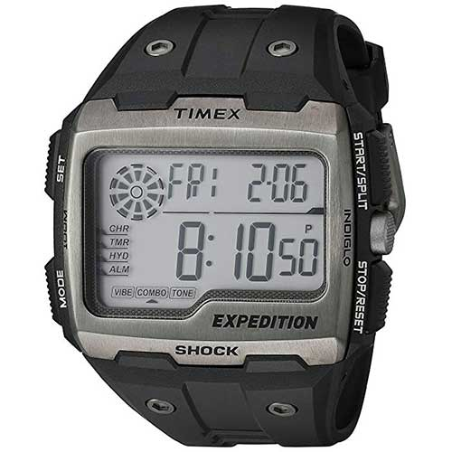 6. Timex Expedition Grid Shock Watch