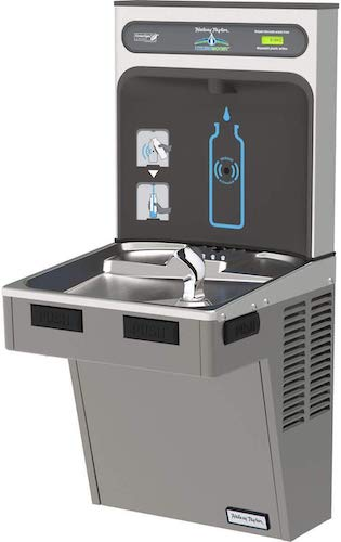 3. Water Cooler W/HydroBoost Water Refilling Station, Light Gray