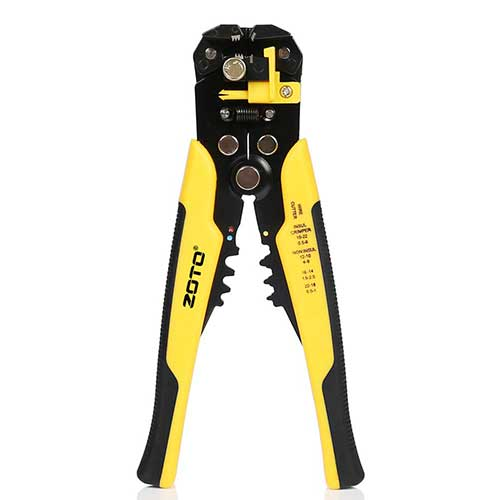 8. Wire Stripper,ZOTO Self-adjusting Cable Cutter Crimper,Automatic Wire Stripping Tool/Cutting Pliers Tool for Industry
