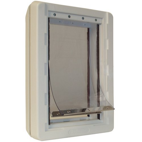 8. Ideal Pet Products Ruff-Weather Pet Door with Telescoping Frame