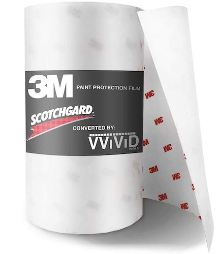 3. 3M Scotchgard Clear Paint Protection Bulk Film Roll 6-by-84-inches