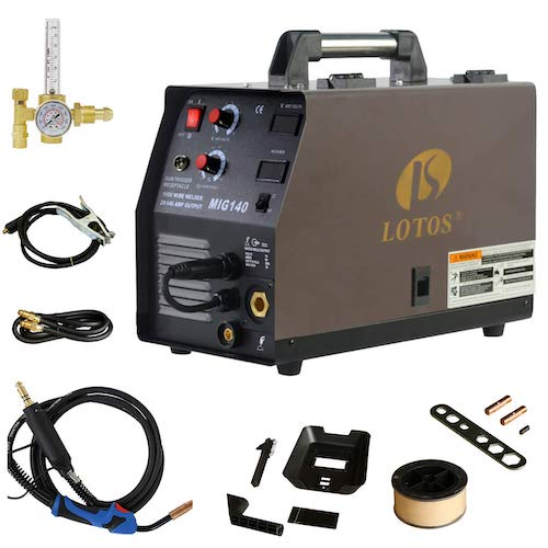 9. Lotos Technology 140 Amp MIG Wire Welder