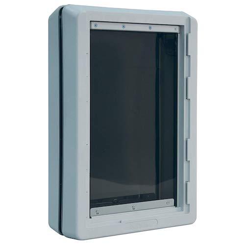 5. Ideal Pet Products Designer Series Ruff-Weather Pet Door with Telescoping Frame