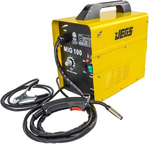 5. JEGS Performance Products 81540 MIG 100 Gasless Welder 110V AC