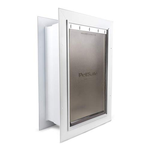 2. PetSafe Wall Entry Pet Door with Telescoping Tunnel, Pet Door for Dogs and Cats, Available in Small, Medium and Large