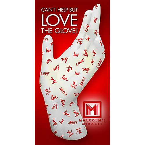 Best Moisturizing Gloves for Dry Hands 4. Malcolm's Miracle LOVE Moisturizing Gloves (Medium) - GUARANTEED for TWO YEARS -Made in the USA (Medium)