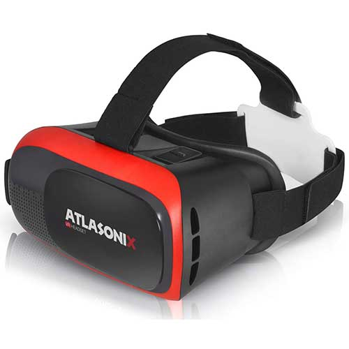 Best Vr Headsets Under $50 5. VR Headset for iPhone & Android Phones Virtual Reality Goggles | 2019 New Comfortable & Adjustable Glasses by Atlasonix