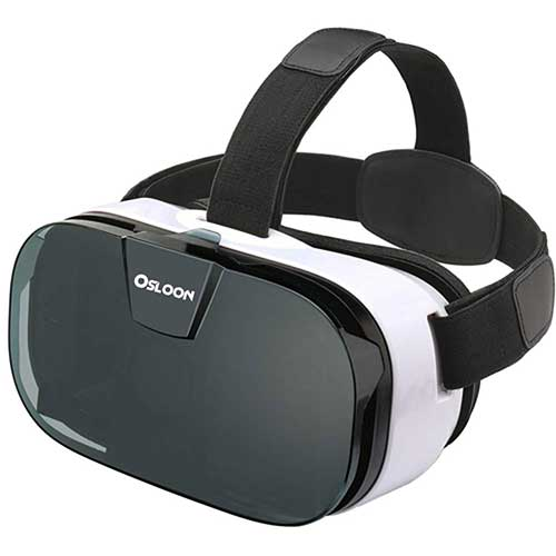 4. Virtual Reality Headset, Osloon 3D VR Glasses for Mobile Games and Movies, Compatible 4.7-6.2 inch iPhone/Android