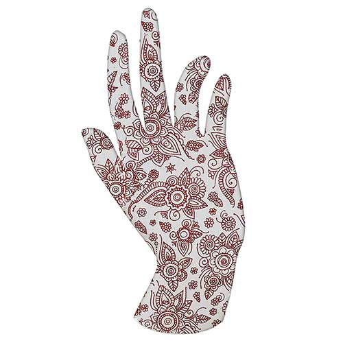 Best Moisturizing Gloves for Dry Hands 3. Malcolm's Miracle HENNA Moisturizing Gloves - Lasts 2 years - Made in the USA (Medium, HENNA)
