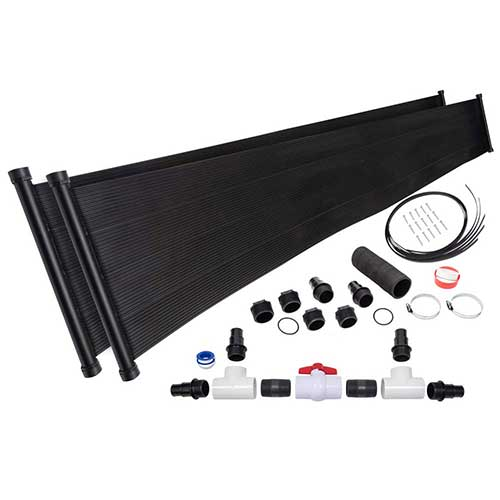 Best Solar Heater for Above Ground Pool 7. 2-2'X20' SunQuest Solar Pool Heater with Diverter And Roof/Rack Mounting Kit