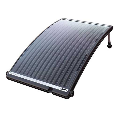 Best Solar Heater for Above Ground Pool 5. GAME 4721-BB SolarPRO Curve Solar Pool Heater, Made for Intex & Bestway Above-Ground and Inground Pools, Includes Intex Adapters, 2 Hoses & Clamps