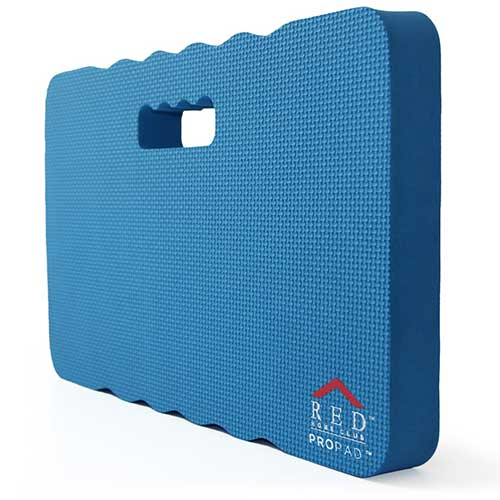 1. RED Home Club Thick Kneeling Pad - Garden Kneeler for Gardening, Bath Kneeler for Baby Bath, Kneeling Mat for Exercise & Yoga, Knee Pad for Work, Extra Large (XL) 18x11, Thickest 1-½ Inches, Blue