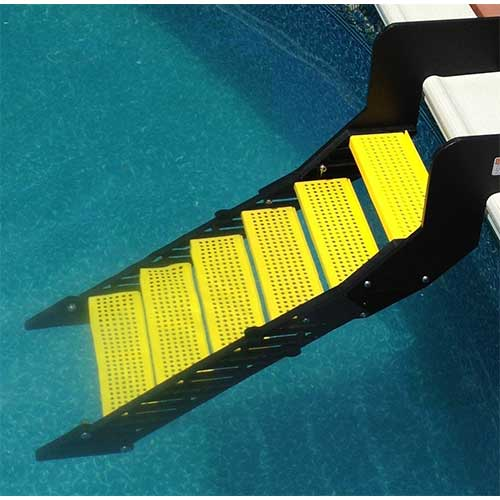 Best Above Ground Pool Steps 9. WaterDog Adventure Gear Wag Boarding Steps for Above-Ground Pools - Model XPM-6