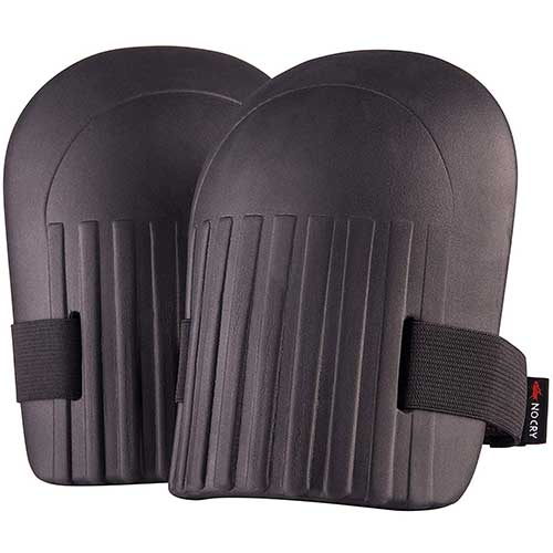 3. NoCry Home & Gardening Knee Pads - with Lightweight Waterproof EVA Foam Cushion, Soft Inner Liner, and Easy Fit with Adjustable Hook'n'Loop Straps