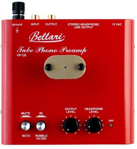 8. Bellari VP130 Mm Tube Phono Preamplifier With Headphone Amplifier